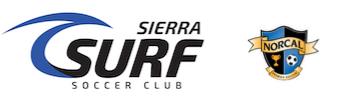 Sierra Surf Soccer Club Logo